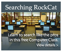 Searching RockCat Classes offered at HPL