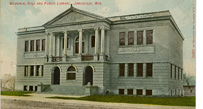 Carnegie Library Building Janesville, 1903