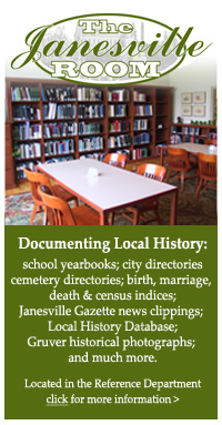 Vist the Janesville Room at HPL